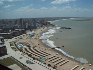 Espectacular vista frente al mar con 3 Amb