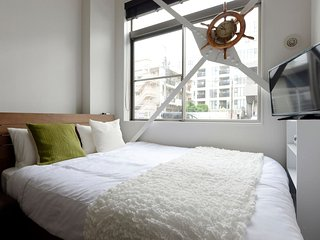 OPEN 6min to Hiroo, free Wi-Fi, Max 4persons B22, Minato