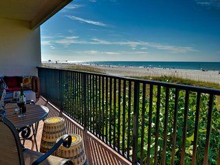 Surfside Condos - Beach Front Clearwater Beach 202 Beachfront Condo