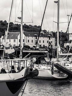 Sail Loft across marina
