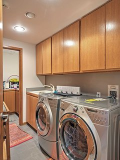 In-unit laundry machines for your convenience!