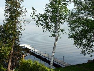 Chalet au bord du lac Massawippi
