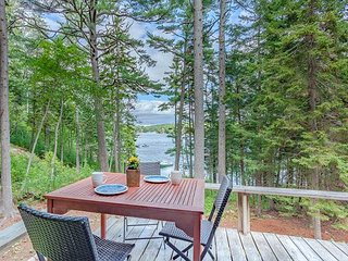 Chic Studio Cabin in Boothbay Harbor: Ocean Views, Sprucewold Beach Access