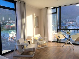 Central Studio with Mountain View and AC, Cidade do Cabo Central