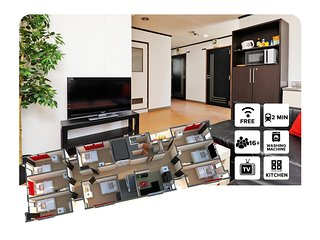 SKU #4 8 Bedroom Apartment, Sakai
