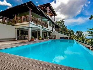Studio Lili, charme et douceur du Diamant, accès piscine, à 5 min des plages