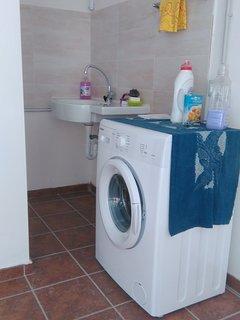 Garage uso lavanderia