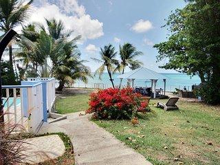 Villa 3CH- piscine, accès mer, plage proche à pied, Sainte-Luce