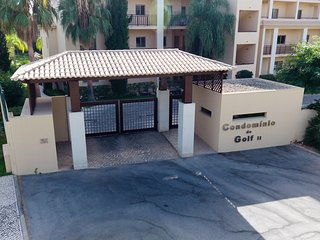 Condomino Do Golf 11 Gate entrance, you will know the code and have a fob to enter, very safe