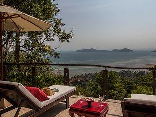 Tropical Island Sea View Pool Villa, Laem Set