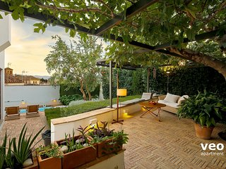 Estrella Terrace. 3 bedrooms, terrace garden, pool, Granada