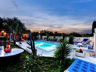 AMAZING VILLA WITH BIG GARDEN WITH OLIVE TREES, Zadar