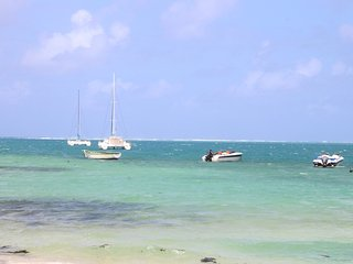 Enjoy typical mauritian life near beach