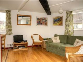 Views onto Castle Street and Bells Court.Double sofa bed