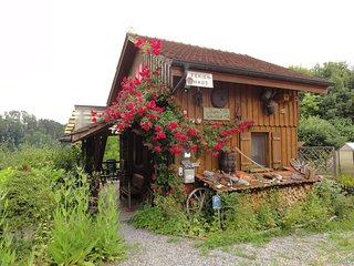 Ferienhaus Bijou-Sitterblick Zwischen Bodensee & St -Gallen. Natur pur., Bischofszell
