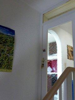 Eingang zur Ferienwohnung