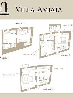 Villa Amiata floorplan