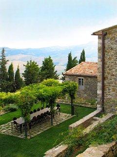 Muri Antichi's garden.