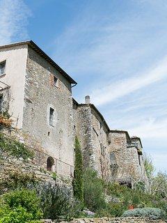 The village of Castiglioncello del Trinoro