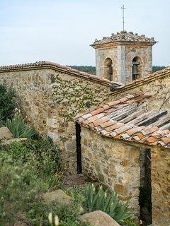 Village roof tops.