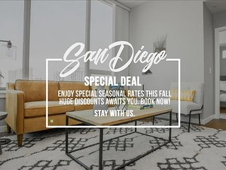 San Diego 3Bed Highrise Suites Walk to  Gaslamp District