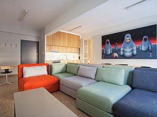 Comfortable apt, 2 bedrooms, 2 bathrooms. Sleeps 6, Atenas