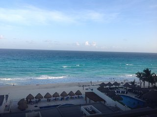 Ocean View from high above, Cancún