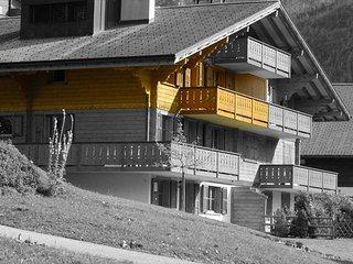 Appartement confortable et convivial avec belle vue sur les montagnes