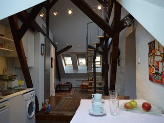Romantic loft at the Castle, Boedapest