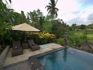 Kukuh 2Bdrm, Quiet, Wifi, Pool, Rice Field View