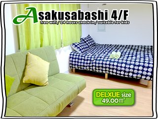 4/F SUPER BIG FOR 4-7ppl ! TWO DELUXE TWIN ROOM, Taito