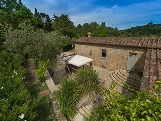Tuscan country villa, once an old mill, Carmignano