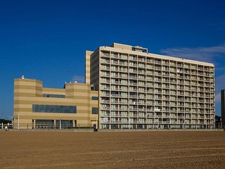 Ocean Front View at Virginia Beach Beach Quarters  Jul 31 - Aug 7 2021