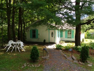 COZY STREAMSIDE COTTAGE NEAR SKI CENTER, Pine Hill