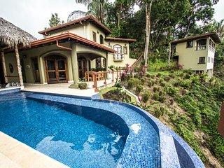 8 Bedroom Estate Overlooking the Pacific Ocean, Pool, AC, Laundry, Sleeps 20