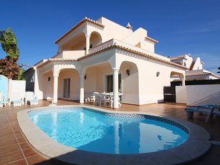 The villa with private pool walking distance to the beaches/town center
