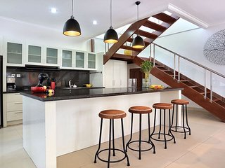 Posh and fully equipped kitchen