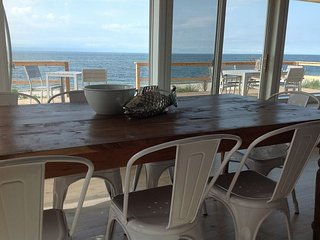 Luxury Beach House w Panoramic Views 1.5hrs NYC Sleeps 10 Soundview