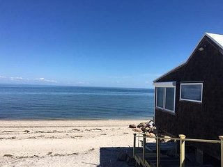 Brand new affordable beach cottage , located directly on the beach!, Calverton