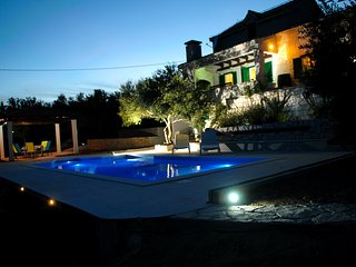 Villa Pax with a private swimming pool