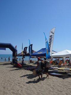 Local beach sports
