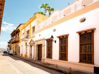 Elegant republican architecture., Cartagena