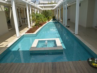 Azuri Beach and pool apartment in the North of Mauritius.