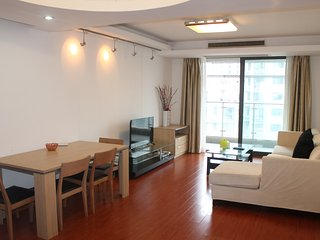High Fl/Spacious nd Open 2bdr/2lvr at Zhenping Rd, Shanghai