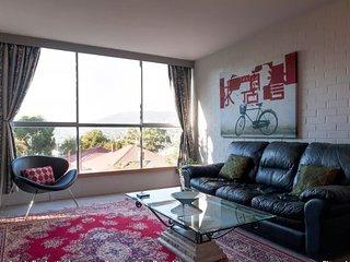 Italian leather lounge, Belgian rugs, Tasmanian Oak, super fast WiFi