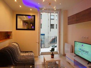 Appartement avec balcon à louer centre-ville, Montlucon