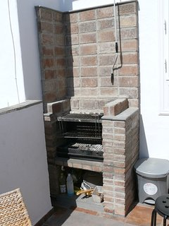 Built in barbeque