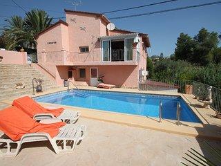 Claudia - maison de vacances avec piscine privée Benissa