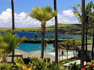 Kapalua Bay Villa Sweeping Ocean Views!  Rate Reduced!