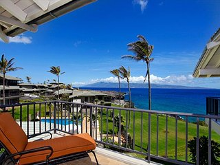 Kapalua Bay Ocean Front West Facing! Hard Hat Special!  Feb 19 to Apr 8